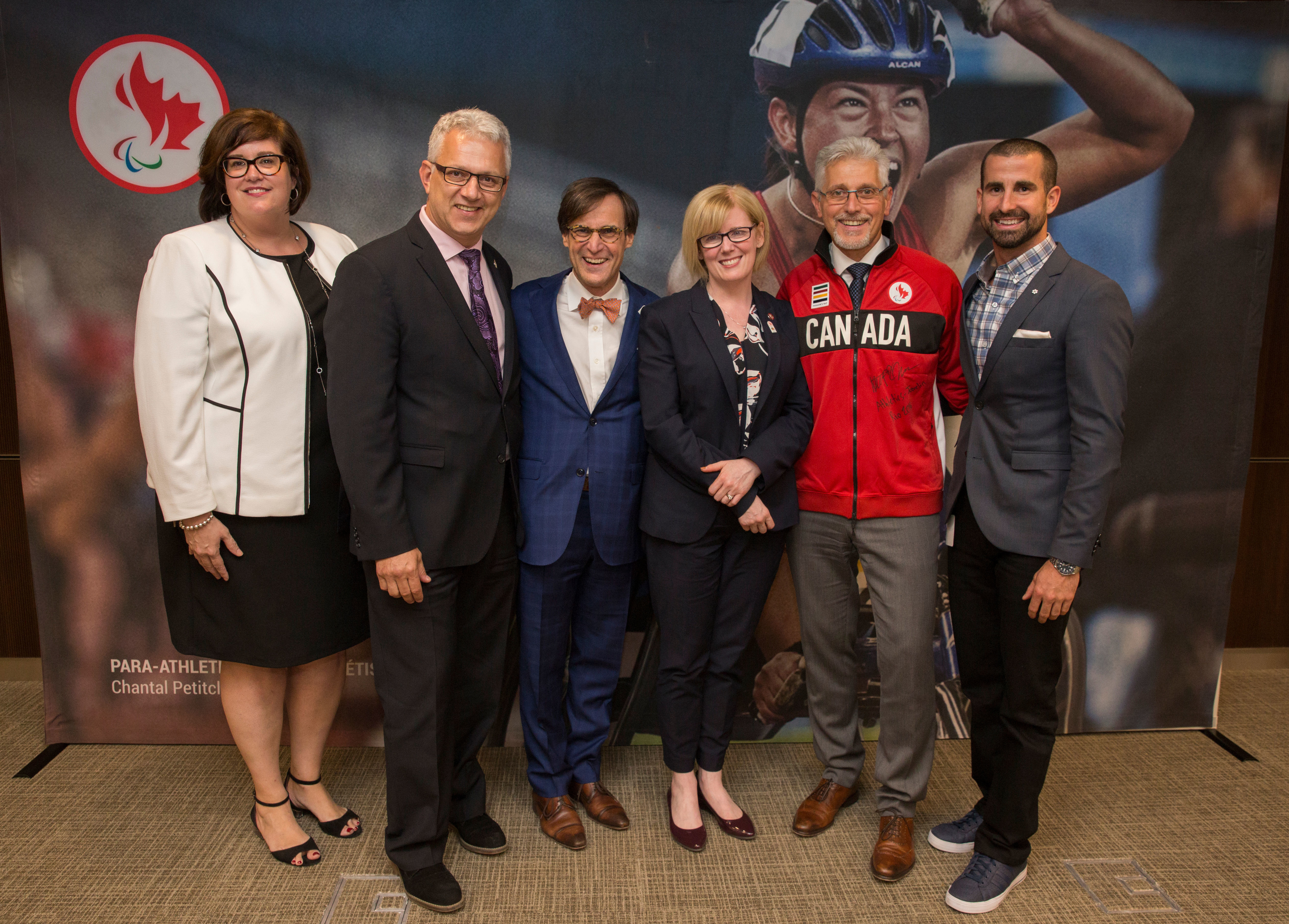 Pfizer employees, Paralympians, and the CPC President
