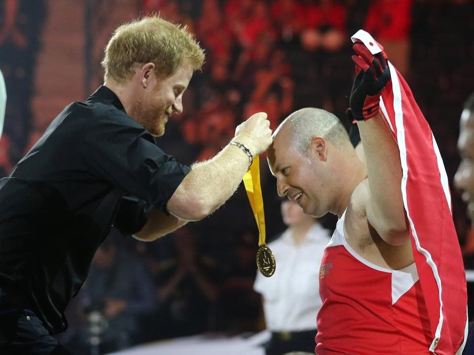 Mike Trauner and Prince Harry