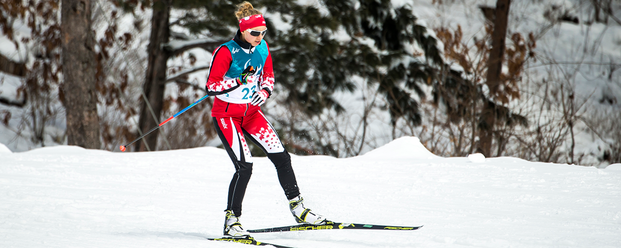 Natalie Wilkie in the Para biathlon