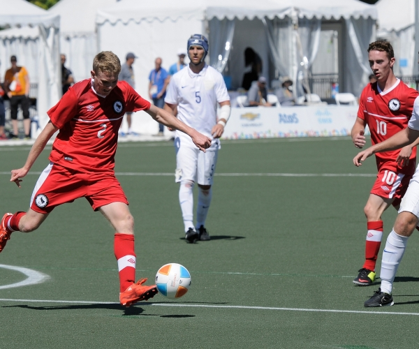 7-a-side football action at the Toronto 2015 Parapan Am Games
